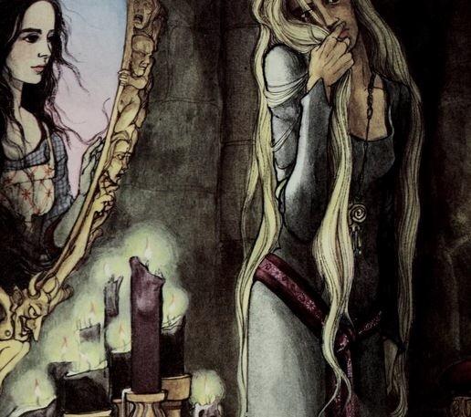 Evil Queen, beein' spooky
